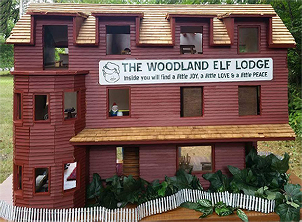 The Woodland Elf Lodge